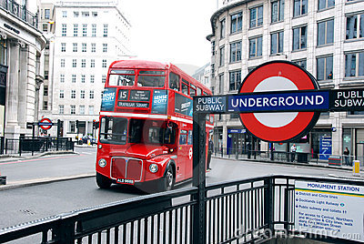 London Transport Editorial Stock Photo