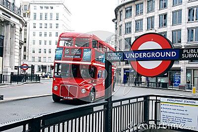 London Transport Editorial Photo