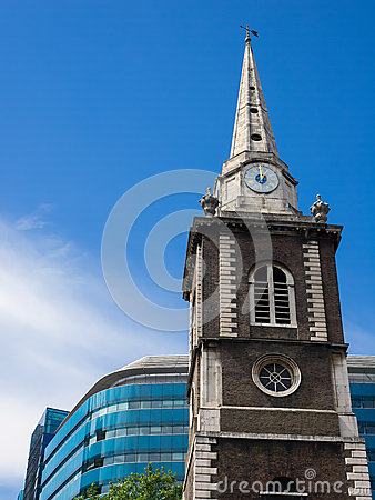 Free LONDON/UK - JUNE 15 : St Boltolph Without Aldgate Church In Lond Royalty Free Stock Image - 73211906