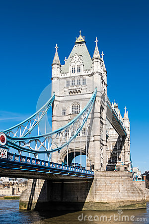 Free LONDON/UK - MARCH 7 : Tower Bridge In London On March 7, 2015. U Stock Photos - 74322143