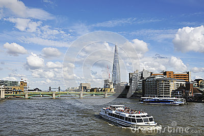 London UK and river