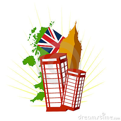 London uk vector symbols