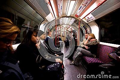 London Underground Editorial Stock Photo