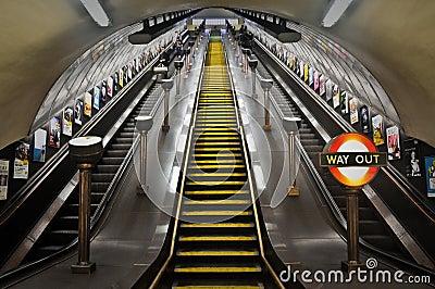 London Underground Editorial Photography