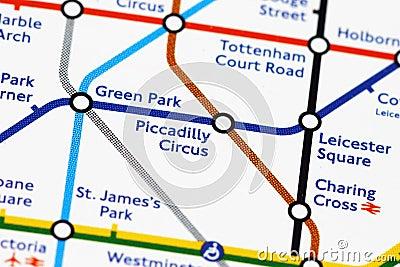 London underground Editorial Stock Image