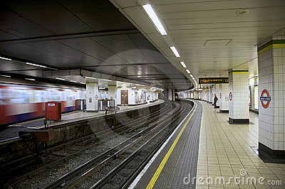 London Underground Editorial Stock Photo