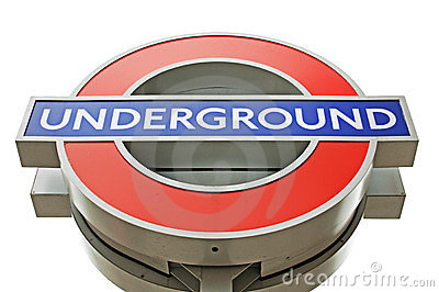 London Underground Editorial Photo