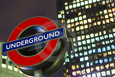 London Underground Sign Royalty Free Stock Photography - Image: 17233807