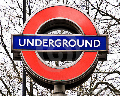 London underground sign Editorial Photo