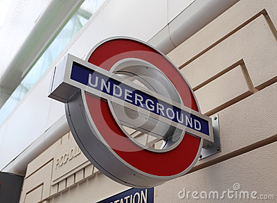 London Underground Editorial Photography