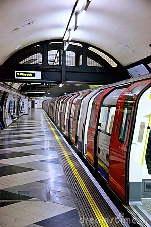 Free London Underground Tube Stock Image - 6806851