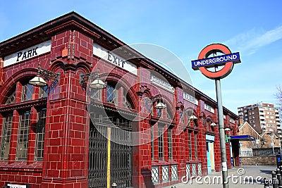 London Underground tube station Editorial Photography