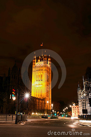 London United Kingdom - Victoria tower -