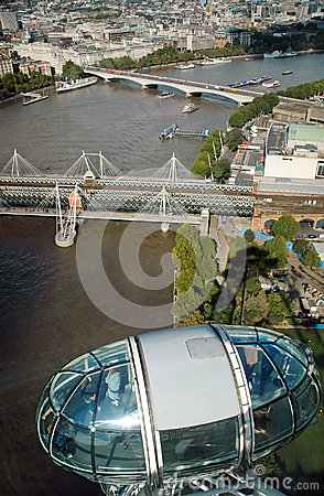 London view Editorial Image