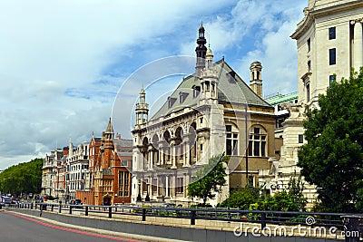 London - view near Blackfriars Bridge