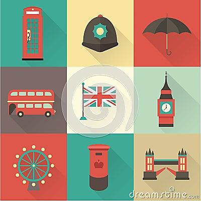 London vintage icons