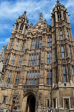 London, westminster, hall of parliament