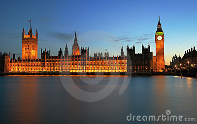London, Westminster und Big Ben