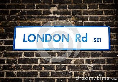 London-Zeichen
