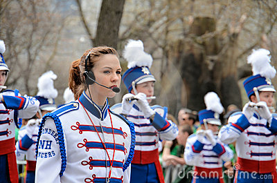 Londonderry High School Lancers Marching Band Editorial Photography