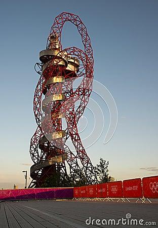 Londra 2012 Fotografia Editoriale