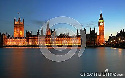 Londres, Westminster y Ben grande