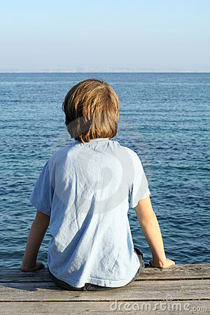 Free Lone Boy Royalty Free Stock Image - 501376