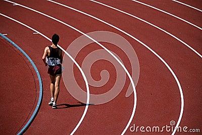 Lone runner 01