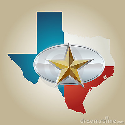 Lone Star Belt Buckle