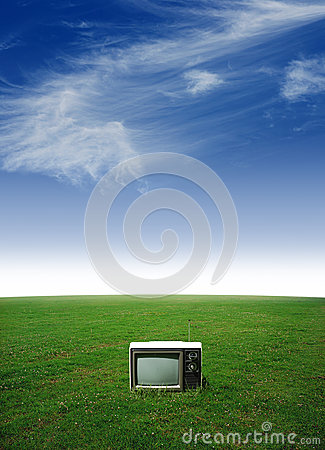 Lone television