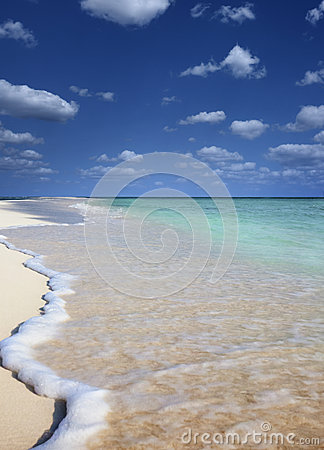 Free Lonely Beach Stock Images - 36594414