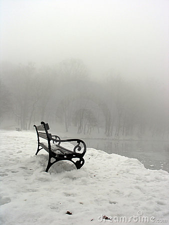 Free Lonely Bench Stock Photo - 1552140