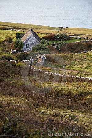 Free Lonely Cottage By The Sea Stock Photo - 20662500