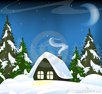 Free Lonely Forest Hut Royalty Free Stock Photo - 17078785