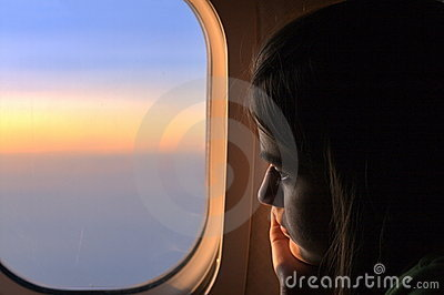 Lonely Girl on a Plane