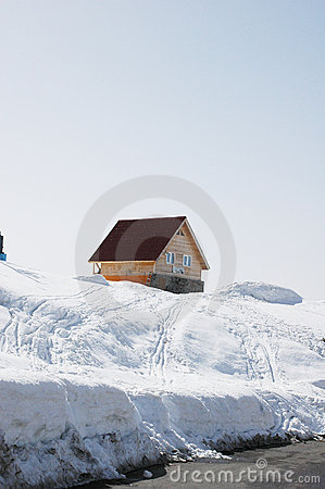 Free Lonely House Stock Image - 11722781