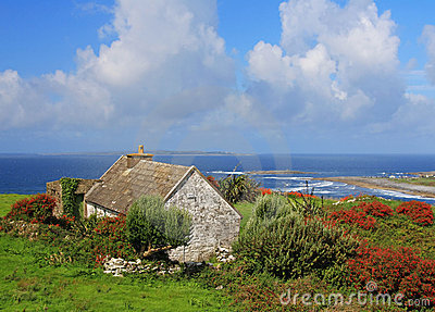 Lonely irish house