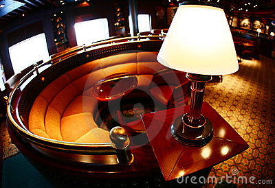 Lonely Lounge Lamp Stock Images - Image: 2891324