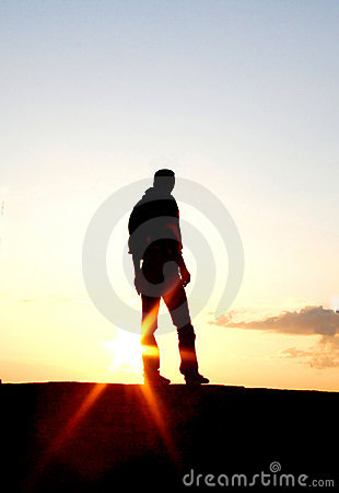 Free Lonely Man Royalty Free Stock Images - 11120199