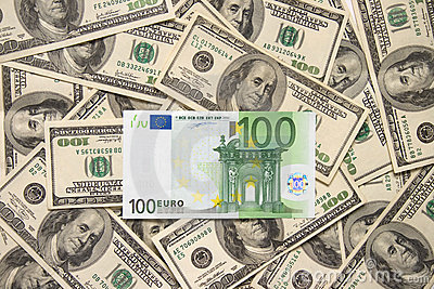 Lonely one hundred euros over