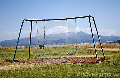 Lonely Swing Set