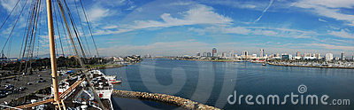 Long Beach panorama