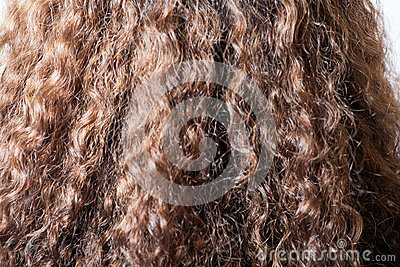 Long brown hair background