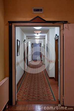 A Long Corridor Royalty Free Stock Photos - Image: 21156848