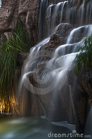 Long exposure waterfall