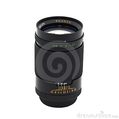 Long-focus lense