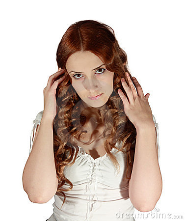 Free Long-haired Girl Royalty Free Stock Photography - 7164917