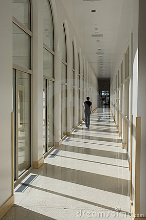 Long Hallway Corridor