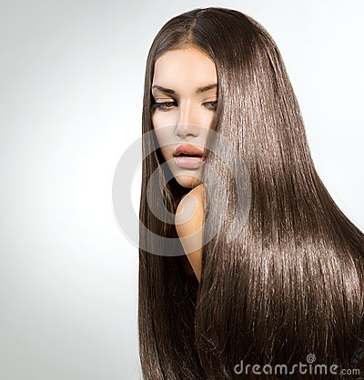 Free Long Healthy Straight Hair Stock Images - 33487954