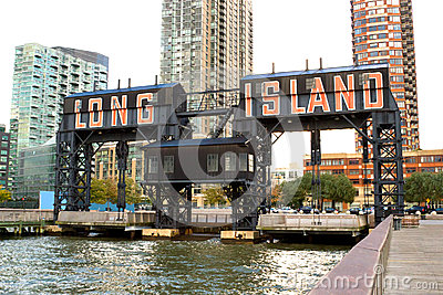 Long Island city pier, New York